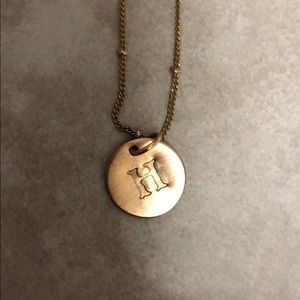 Jewelry - H Initial Necklace